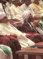 الجلسة الافتتاحية للحلقة العلمية في ذكرى دخول الإمام المهاجر لحضرموت لعام ١٤٤٠ه