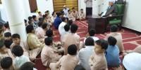 الموجه العام لأربطة التربية الإسلامية في زيارة لحلقات جيل السلامة برباط الإمام المهاجر